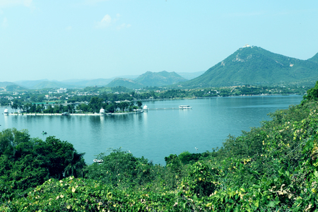 sagar: Fateh Sagar Lake, Udaipur Stock Photo