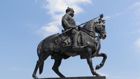 rajput: Maharana Pratap Memorial, Udaipur, Rajasthan Editorial