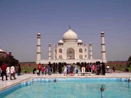 mumtaz: World famous symbol of love, The Taj Mahal is a white marble mausoleum located in Agra, Uttar Pradesh, India. It was built by Mughal emperor Shah Jahan in memory of his wife, Mumtaz Mahal.