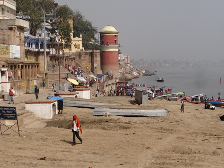 moksha: The Holy River Gangas Ghats in Banaras : Varanasi is the oldest city of the world. Varanasi is more than 3000 years old and is famous as the city of temples.  Varanasi is also known by the name of Kashi and Benaras. Kashi, the city of Moksha for Hindus s