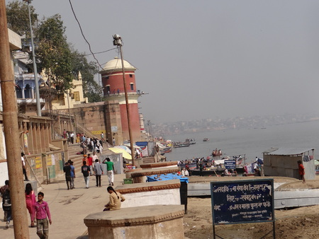confluence: The Holy River Gangas Ghats in Banaras : Varanasi is the oldest city of the world. Varanasi is more than 3000 years old and is famous as the city of temples.  Varanasi is also known by the name of Kashi and Benaras. Kashi, the city of Moksha for Hindus  Editorial