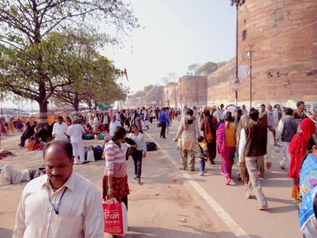 saraswati: People in Allahabad Kumbh Fair 2013 :  The Kumbh Festival began on the full moon night Purnima of the month of Paush. The Kumbh Festival is held at Haridwar, Ujjain and Nasik every four years, but the Kumbh at Prayag, Allahabad  has a special significance Editorial