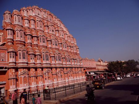 maharaja: The renowned Palace of The Winds, or Hawa Mahal, is one of the prominent tourist attractions in Jaipur city. Located in the heart of Jaipur, this beautiful five-storey palace was constructed in 1799 by Maharaja Sawai Pratap Singh who belonged to Kachhwa