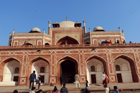 commissioned: Humayuns tomb is the tomb of the Mughal Emperor Humayun in Delhi, India. The tomb was commissioned by Humayuns wife Bega Begum in 1569-70. Editorial