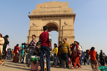 india gate: India Gate, one of the landmarks in New Delhi, India. It is originally called the All India War Memorial, for the 70,000 dead Indian soldiers in the wars. Editorial