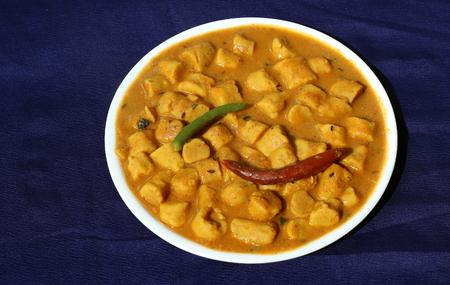 ki: Gatta curry or gatte ki sabji or gatte ki saag - Indian style tasty curry