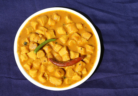 ki: Gatta curry or gatte ki sabji or gatte ki saag - Indian style tasty curry