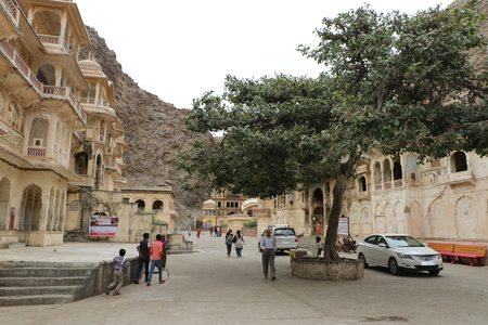 coveted: The Galtaji Temple known as Monkey temple is among the coveted tourist attractions of Jaipur. Editorial