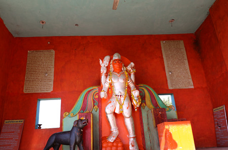 worshipped: Lord Bhairav; an incarnation of Lord Shiva. Lord Bhairav is widely worshipped by Hindu tantriks and yogis to gain various siddhispowers.