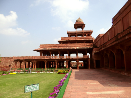 mughal empire: Fatehpur Sikri the Capital of the Mughal Empire founded in 1569 by the Mughal emperor Akbar and served as the capital of the Mughal Empire from 1571 to 1585.