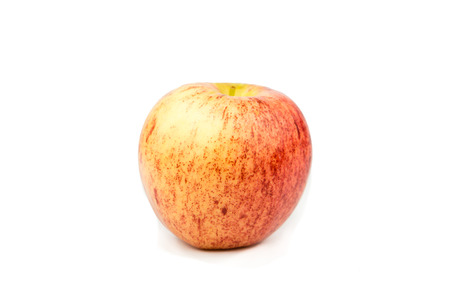 The red fresh apple for healthy