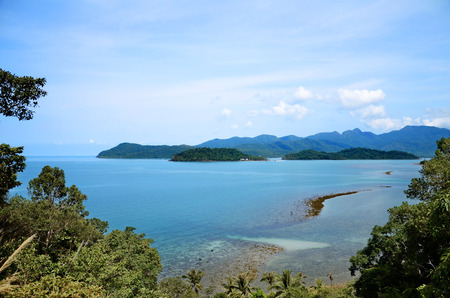 Thailand's beautiful beach in Gulf of Thailand