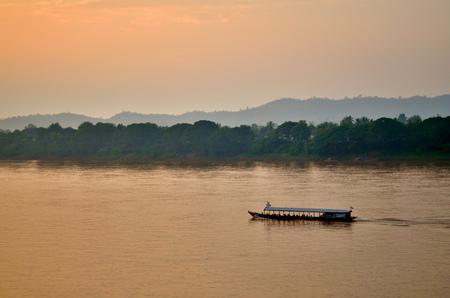 Chiang Khan on the Mekong river