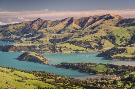 marlborough: New Zealand pristine scenery before sunset