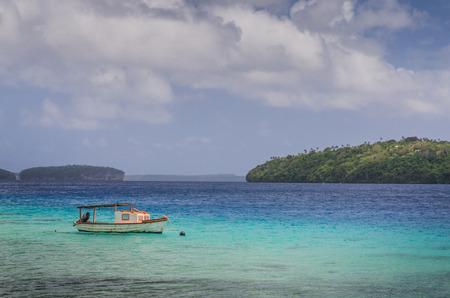 tonga: White sand beaches in Tonga Stock Photo