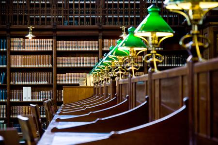 Oud bibliotheekdetail