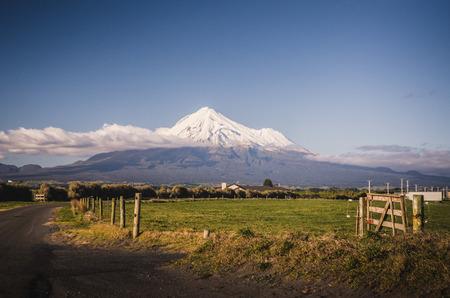 Mount Taranaki the Fuji of New Zealand