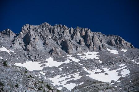 olympus: Mount Olympus, tallest mountain on Greece Stock Photo
