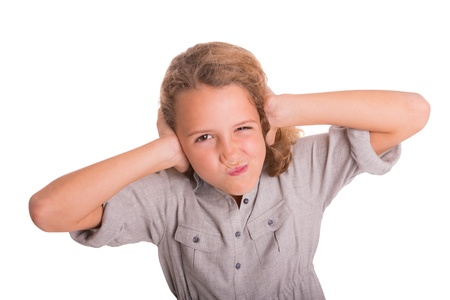 nuisance: Child is frustrated by the noise