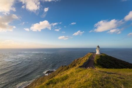 zealand: Lighthouse Cape Reinga on the North Island of New Zealand