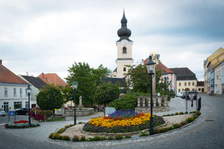 Heidenreichstein in Waldviertel, Lower Austria. Main place of a small town in Austria, Europe.