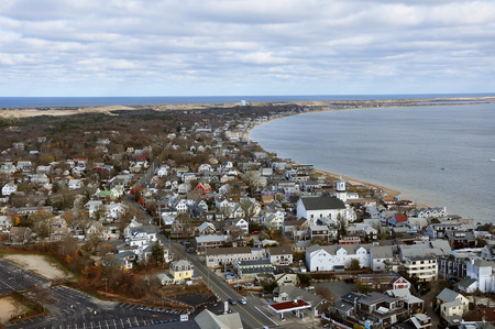Overlook at Provincetown township, Cape Cod, Massachusetts