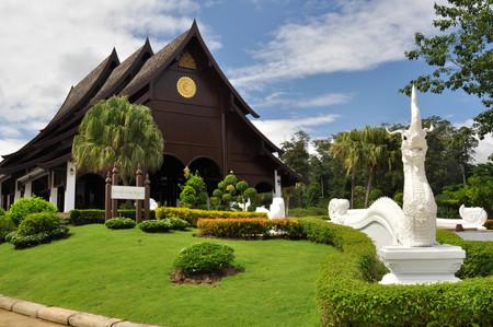 dhamma: Ratanawan Sanctuary, dhamma retreat Wang num kheaw, Thailand