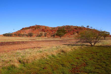 Australian desert scene