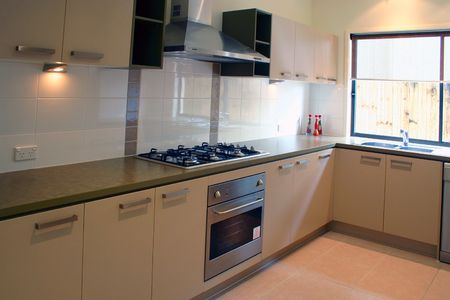 Home interior - kitchen Stock Photo