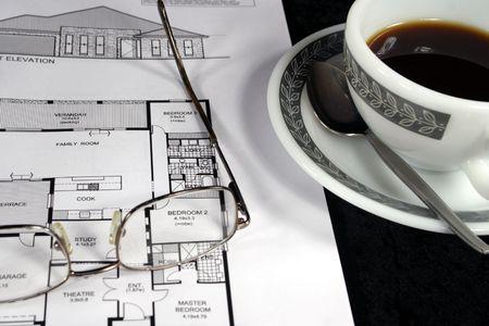home design blue prints