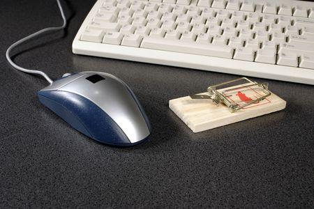bugs shopping: met�fora trampa de rat�n