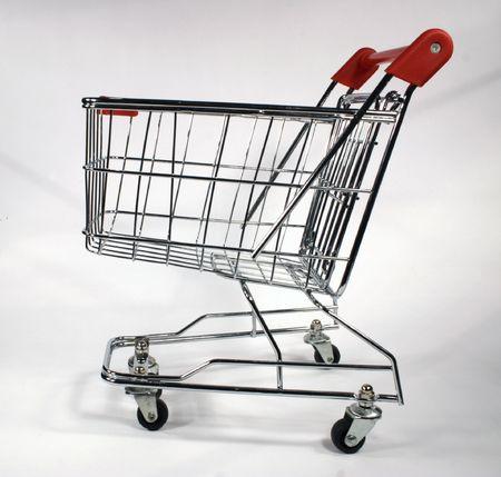 shopping cart side Stock Photo