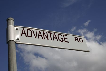 advantage road Stock Photo - 670121