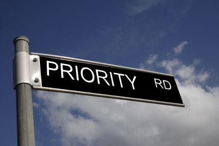 priority road