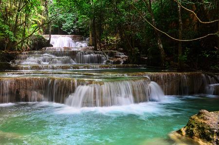 khamin: Huai mae khamin Waterfall - Kanjanaburi Thailand