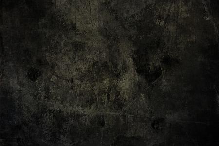 Burnt concrete wall.Grunge cocnrete texture. Stock Photo