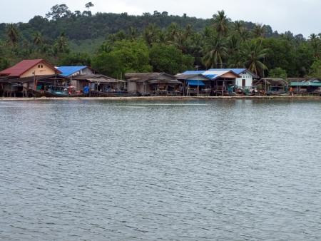lang: A fishing village on the shores of Paknam Tako, Lang Suan district, Chumphon, Thailand