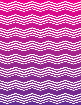 ombre: Pink and Purple Ombre Unique Chevron Pattern