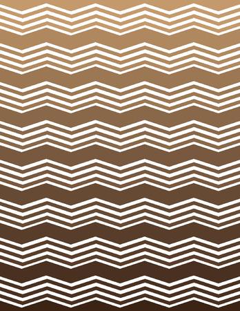ombre: Tan and Brown Ombre Unique Chevron Pattern