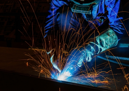 welding with MIG method