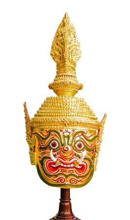 khon: Thai giant khon mask use in royal performance, Khon