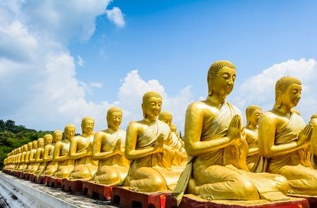 Buddha statue at Nakornnayok, Thailand photo