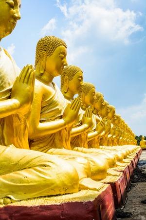 praye: Buddha statue at Nakornnayok, Thailand