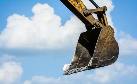 loader: track-type loader excavator machine