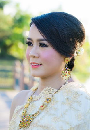 Thai woman Stock Photo