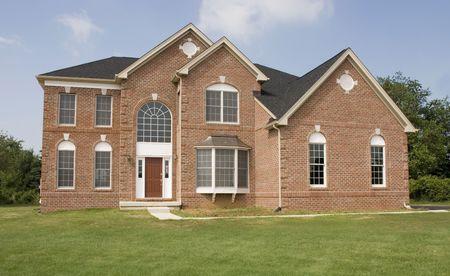Nizza Brick casa verde collina