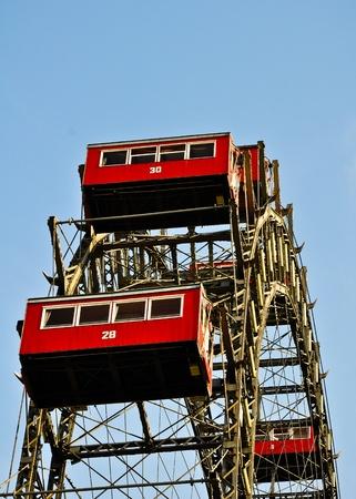 Giant ferris wheel in Vienna photo