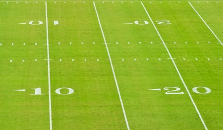 yardline: yard lines on a football fiels