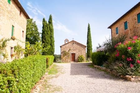 kapelletje in Toscane, Italië