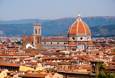 cityscape of florence, italy Stock Photo - 21396631